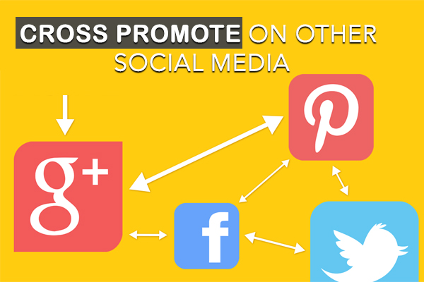 Cross Promote on Other Social Media