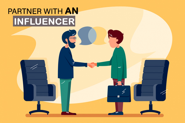 Partner with an Influencer