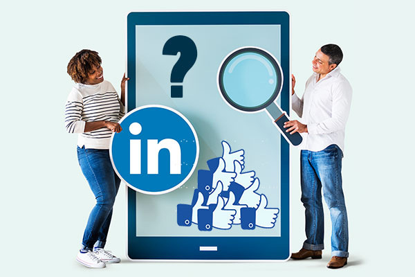 How to get likes on linkedin
