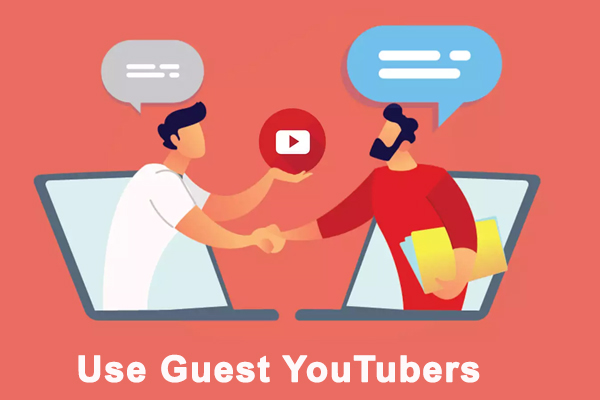 Use Guest YouTubers
