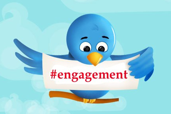 Engage on Twitter