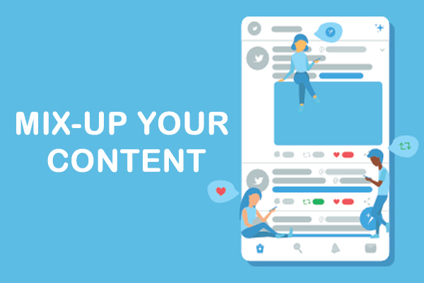 Mix-up Your Content