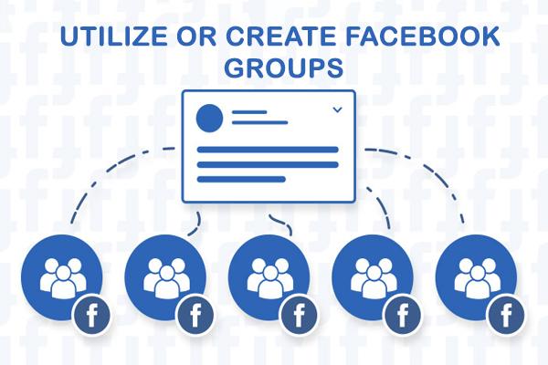 Utilize or Create Facebook Groups